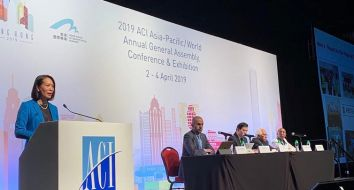 The World General Assembly of the @ACIWorld voted collectively on assigning Oman Airports CEO as Vice President for ACI World for 2 years